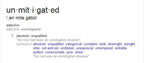 Unmitigated