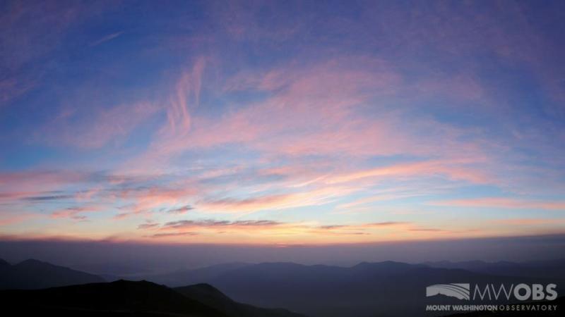 Mount Washington Observatory Sunrise plus 5 082518