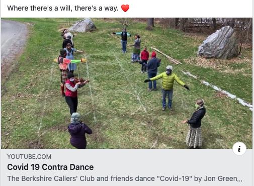 Covid 19 Contra Dance